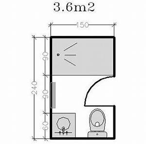 Plan Salle De Bain 4m2 : plan pour salle d 39 eau et petite salle de bains de 2 5m ~ Dailycaller-alerts.com Idées de Décoration