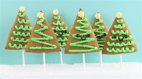 gingerbread tree cookie recipe from kawaii sweet world
