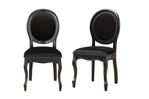 chaise noir pas cher chaise baroque pas cher