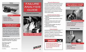 Spicer Failure Analysis Guide User Manual