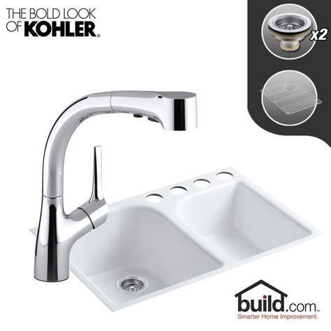Kohler Executive Chef Sink Rack by Kohler K 5931 4u K 13963 Cp Polished Chrome Faucet