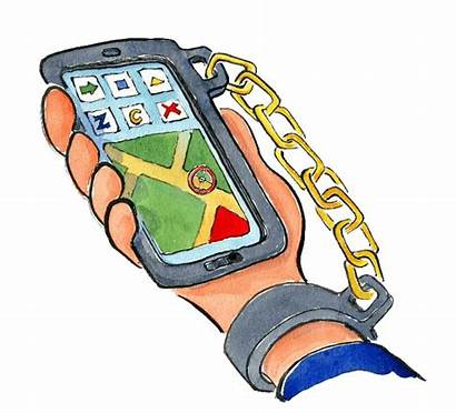 Phone Mobile Drawing Cell Phones Technology Effects
