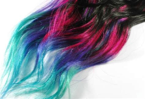 Dip Dyed Tips Human Hair Extensions Boho Lauren Conrad