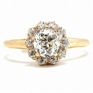 gold engagement rings vintage wedding promise diamond With vintage wedding rings gold