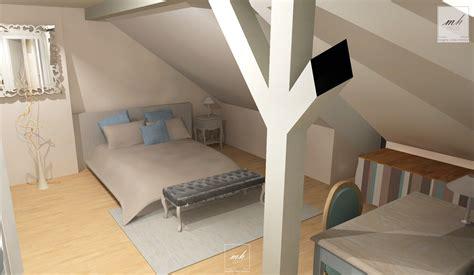deco chambre comble amenagement chambre sous comble chambre moderne sous