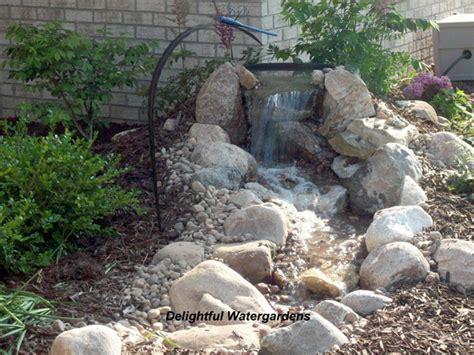 DIY Backyard Water Feature Waterfall