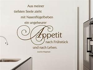 Sprüche Für Die Küche : wandtattoo aus meiner tiefsten seele zitat von ~ Watch28wear.com Haus und Dekorationen