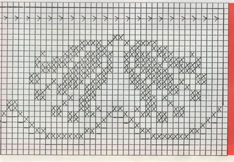 bordure uncinetto per mensole professione donna schemi per il filet 6 bordi per
