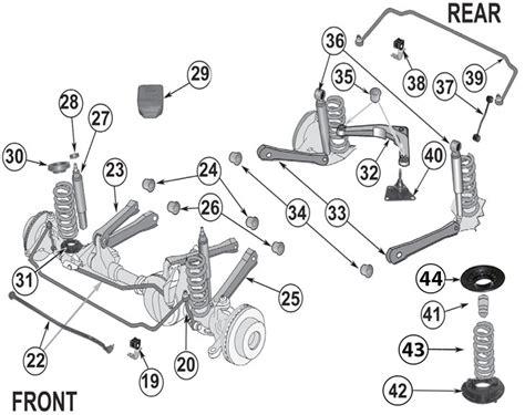 jeep grand cherokee wj suspension parts   quadratec