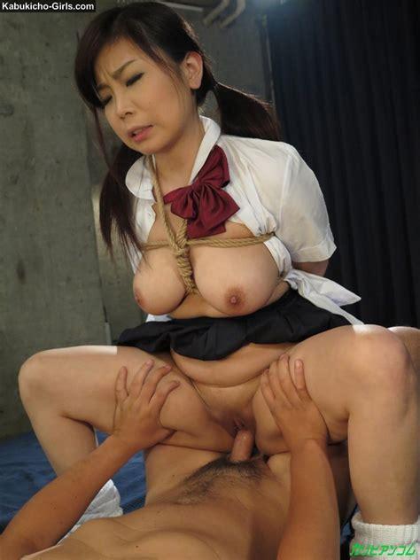 Schoolgirl Seri Yuuki Is In Shibari Sex Toys Bukkake And