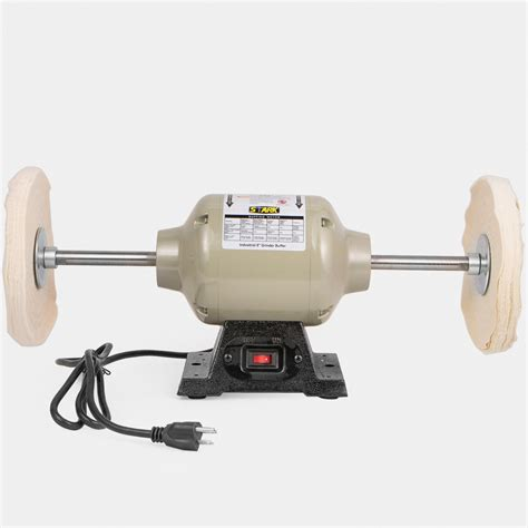 """8"""" Inch Electric Power Bench Table Top Buffing Machine"""