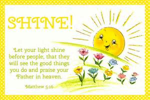 free printable christian message cards let your light shine free christian message cards