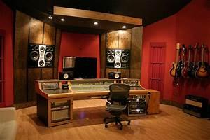 Spyglass studio control room contemporary home theater