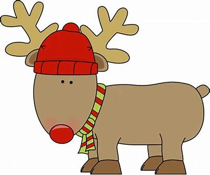 Reindeer Holiday Clip Christmas Winter Graphics Hat