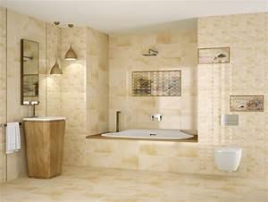 salle de bain travertin le chic noble de la pierre With salle de bain design avec vasque en pierre naturelle travertin