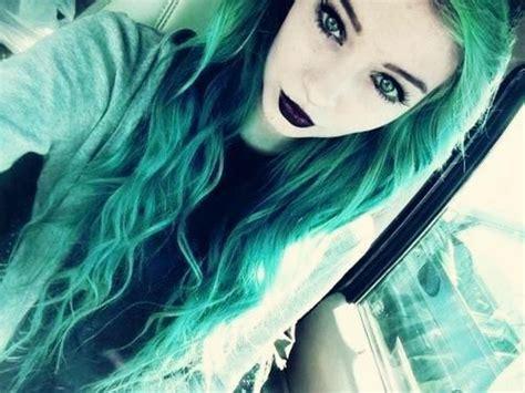 Beautiful Beauty Black Lipstick Cute Emo Rock Girl
