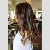 Dark Brown Hair With Caramel Highlights | 736 x 1103 jpeg 122kB