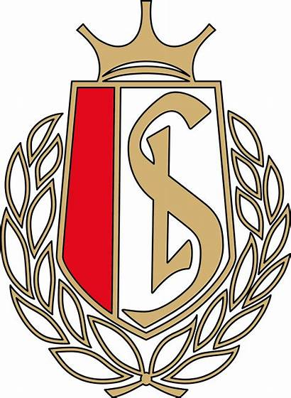 Standard Liege Football Logos Badges Voetbal Afkomstig