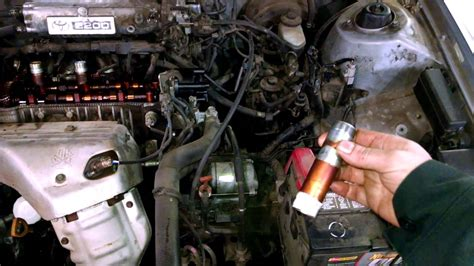 oil  spark plug tubes holes issue toyota camry
