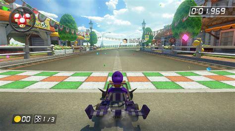 small floor l waluigi racer mario kart dash mario kart 8