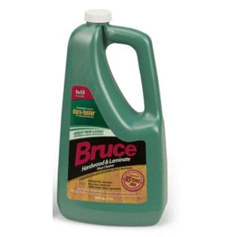 bruce 64 fl oz hardwood and laminate floor cleaner refill ws109rt the home depot