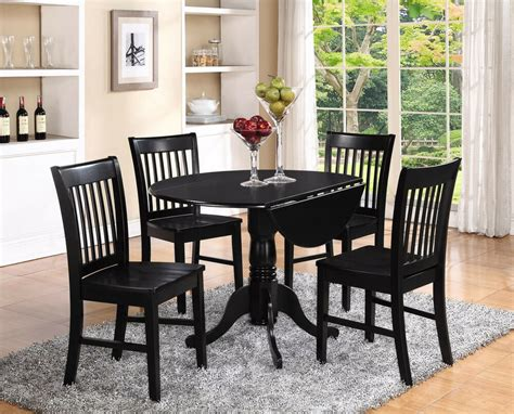 Dinette Table And Chairs by 3pc Set Dinette Kitchen Dining Table With 2 Wood