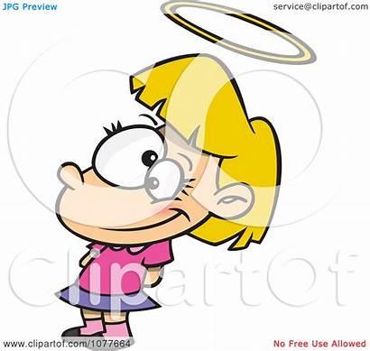 Innocent Halo Clipart Innocence Illustration Angelic Royalty