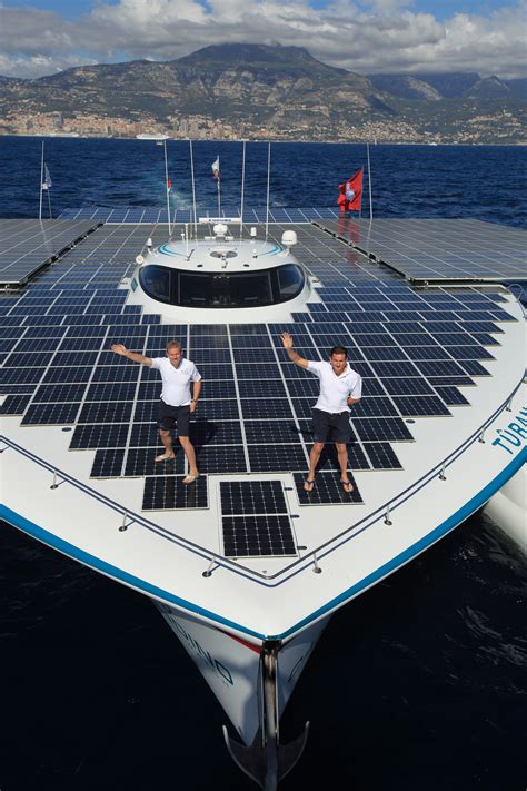 Row Boat Around The World by World S Largest Solar Powered Boat T 219 Ranor Planetsolar