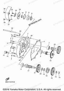 Yamaha Atv 2016 Oem Parts Diagram For Transmission