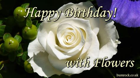 Happy Birthday Song  With Beautiful Flowers Pictures