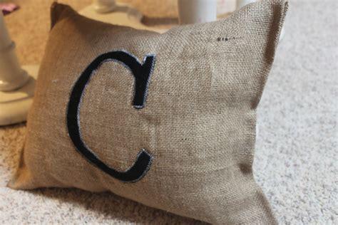 crafty texas girls crafty   monogram pillow