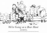 Hunt Bear Going Coloring Re Activities Colouring Pages Books Were Walker Craft Preschool Sheets Fun Sheet Hunting Mountain Teddy Bears sketch template