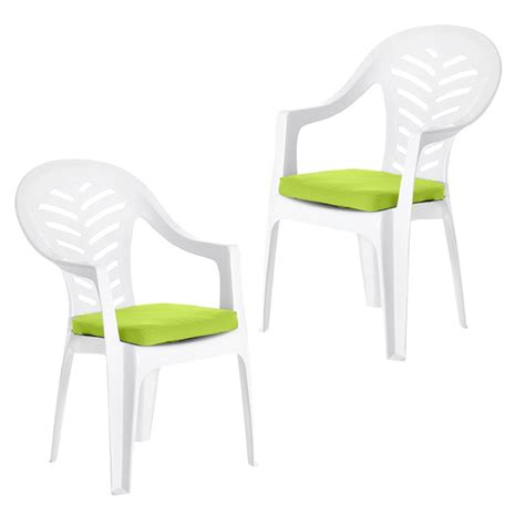 cushion pads for resol palma cool plastic garden chairs