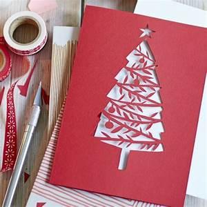 Servietten Selber Drucken Anleitungen : anleitungen weihnachtskarte bild 7 living at home ~ Markanthonyermac.com Haus und Dekorationen