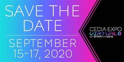 Expo Cedia Std Virtual Twice Dates Announces