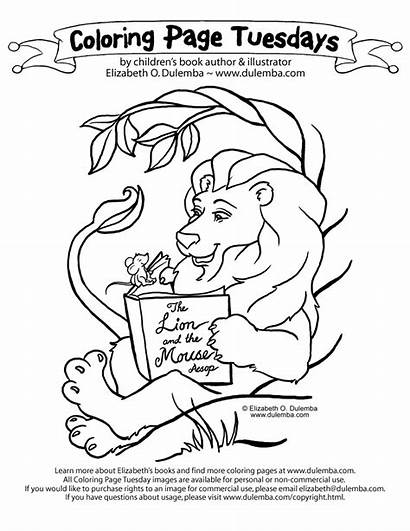 Lion Coloring Mouse Pages Library Worksheets Activities