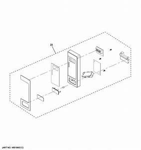 Ge Ceb515p4n1wm Countertop Microwave Parts
