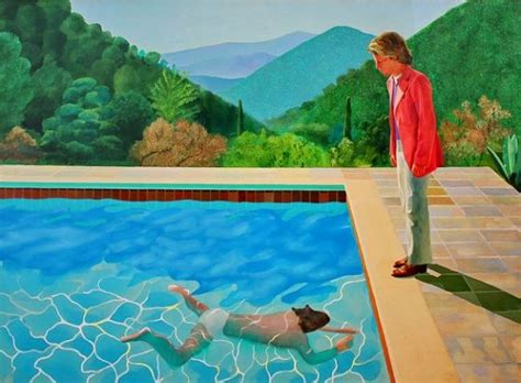 Portrait Of An Artist (pool With Two