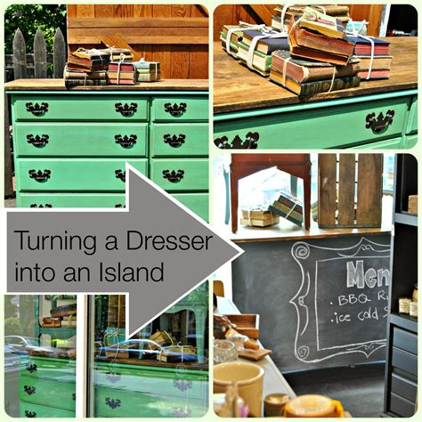 how to turn a dresser into a kitchen island turn a dresser into a kitchen island impact thrift stores 9935