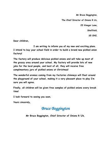 persuasive writing  letter writing  jenkate