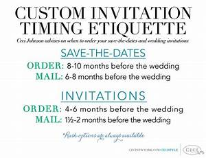 134 best ceci creative tips images on pinterest bridal for Wedding invitations timing etiquette