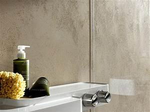 Tapeten Badezimmer Beispiele : putz im bad ein neuer badgestaltungs trend my lovely bath magazin f r bad spa ~ Markanthonyermac.com Haus und Dekorationen