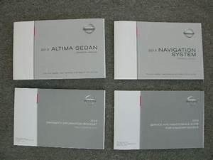 2013 Altima Sedan W   Navigation System Canadian Models