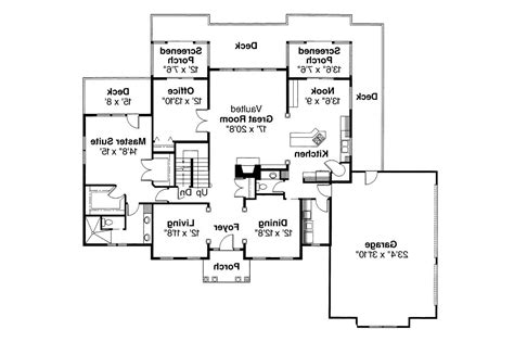 Colonial Floor Plans by Colonial House Plans Cobleskill 10 356 Associated Designs