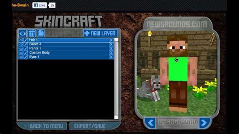 minecraft skin creator youtube