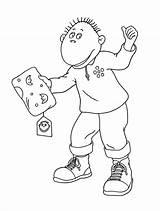 Tweenies Milo Coloring Pages Printable Cbeebies Categories Shows sketch template