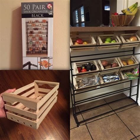 kitchen storage hacks kitchen storage shoe rack mini crates from daiso 3149
