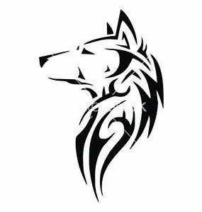 Tribal wolf head vector 1891932 - by VectoryOne on ...