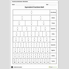 Identifying Equivalent Fractions Lesson Plan  Teach Starter