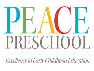 peace preschool home page 664   PeacePreschoolLogoStacked325 1433357904